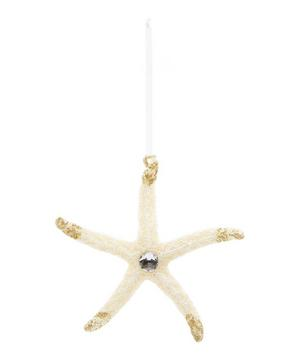 Glittery Starfish Decoration