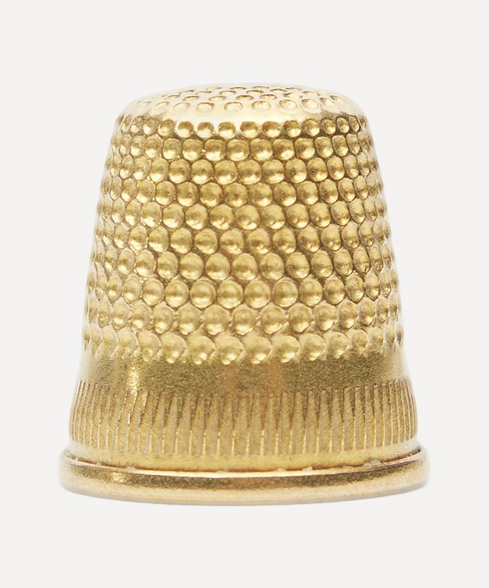 Gold-Toned Thimble