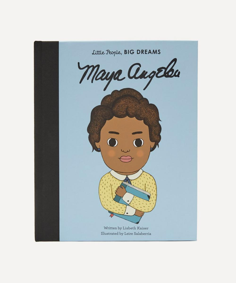 Little People Big Dreams Maya Angelou Book