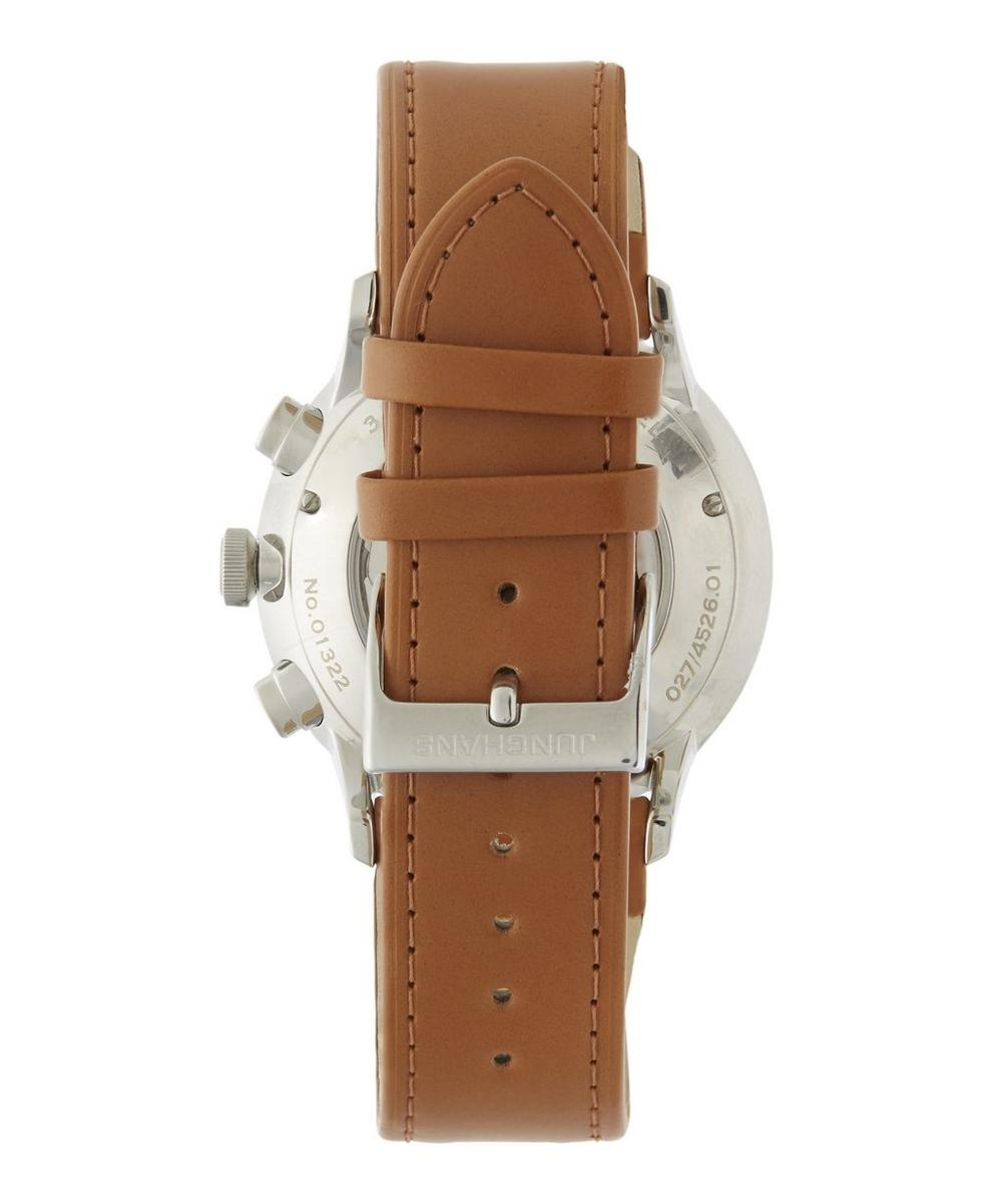 Meister Chronoscope Chronograph Leather Strap Watch