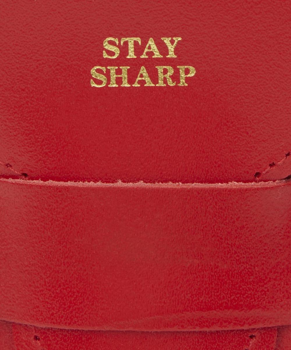 Stay Sharp Pencil Case