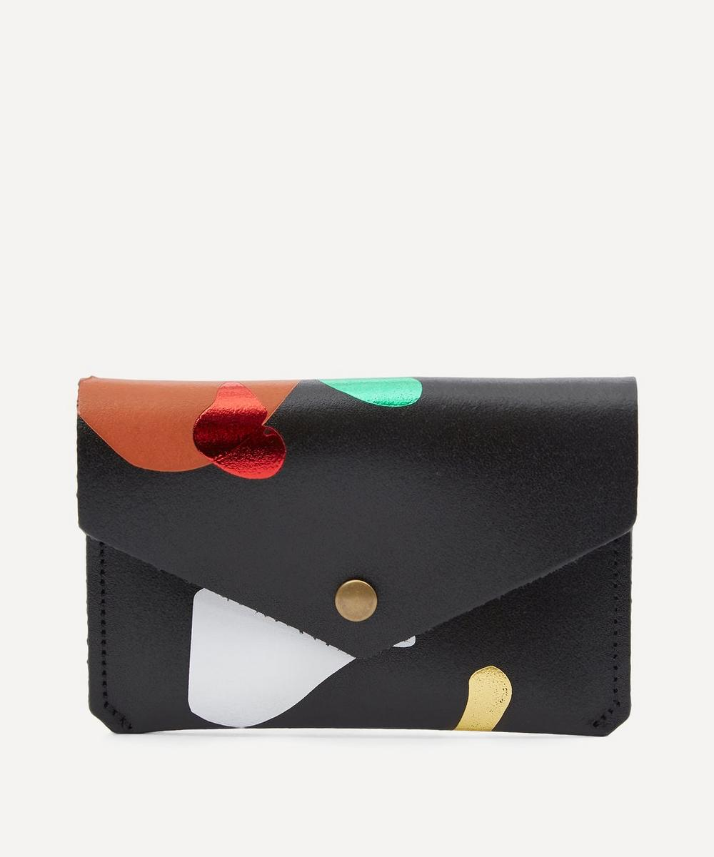 Abstract Popper Purse
