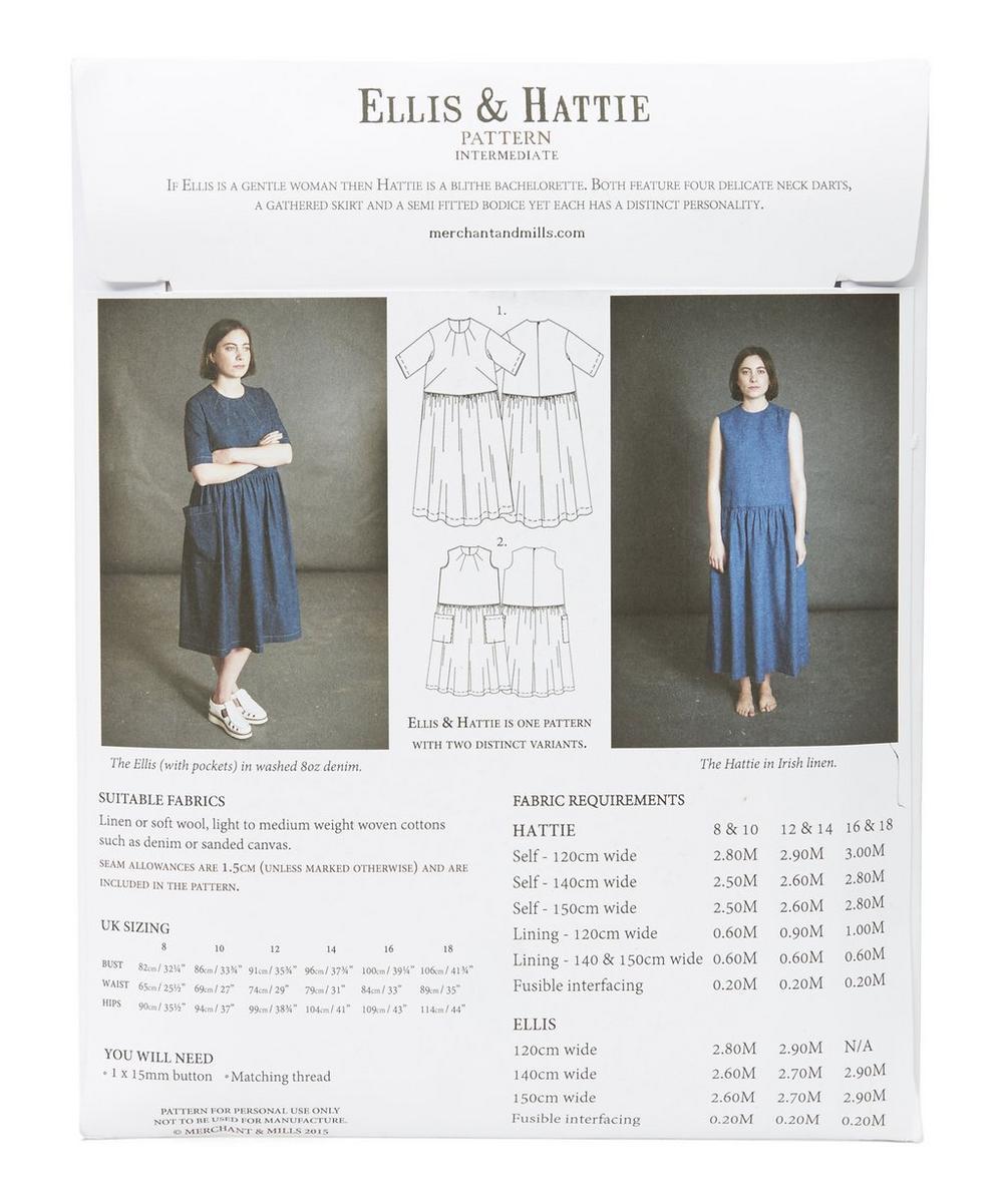 Ellis And Hattie Dress Patterns