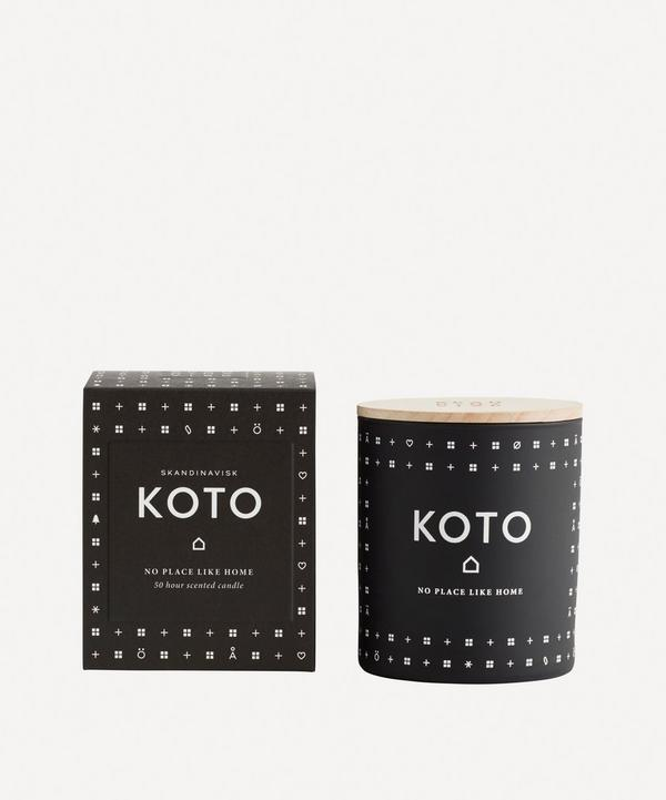 Koto Candle with Lid