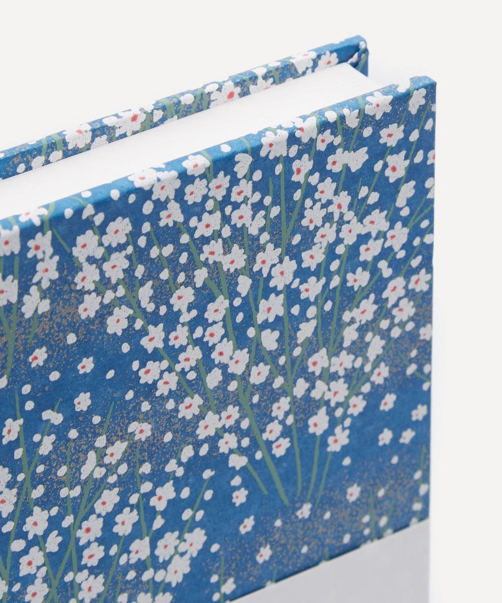 White Blossom Medium Notebook