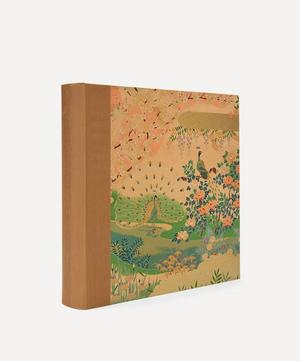 Gold Peacocks Sougara Paper Photo Album