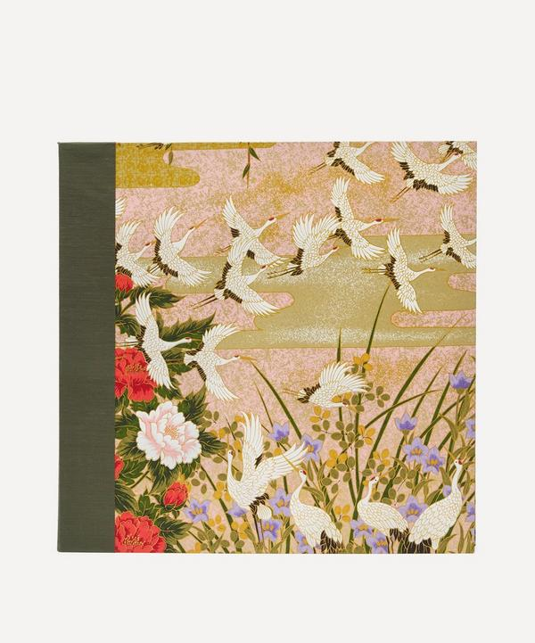 Esmie - Green Cranes Sougara Paper Photo Album