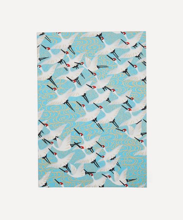 Esmie - Screen-Printed Cranes Greeting Card