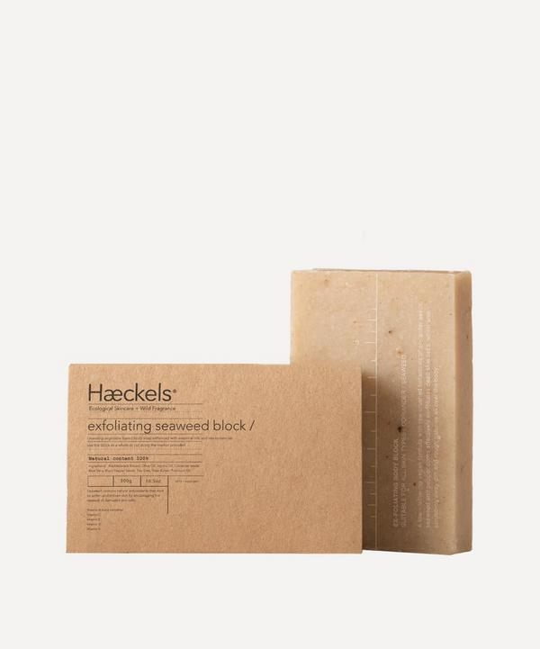 Haeckels - Large Exfoliating Vegan Seaweed Block 300g