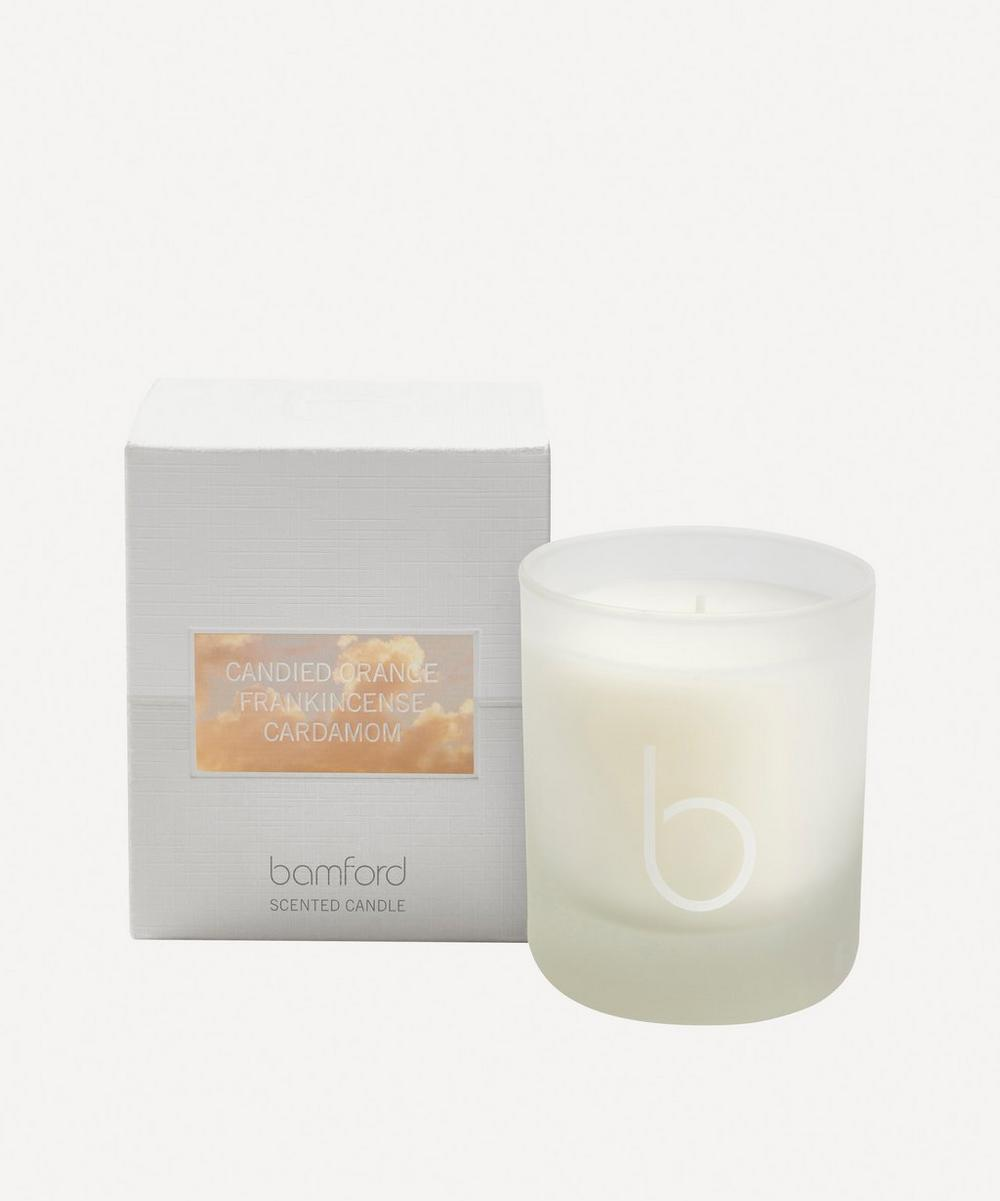 Bamford - Candied Orange Single Wick Candle 140g