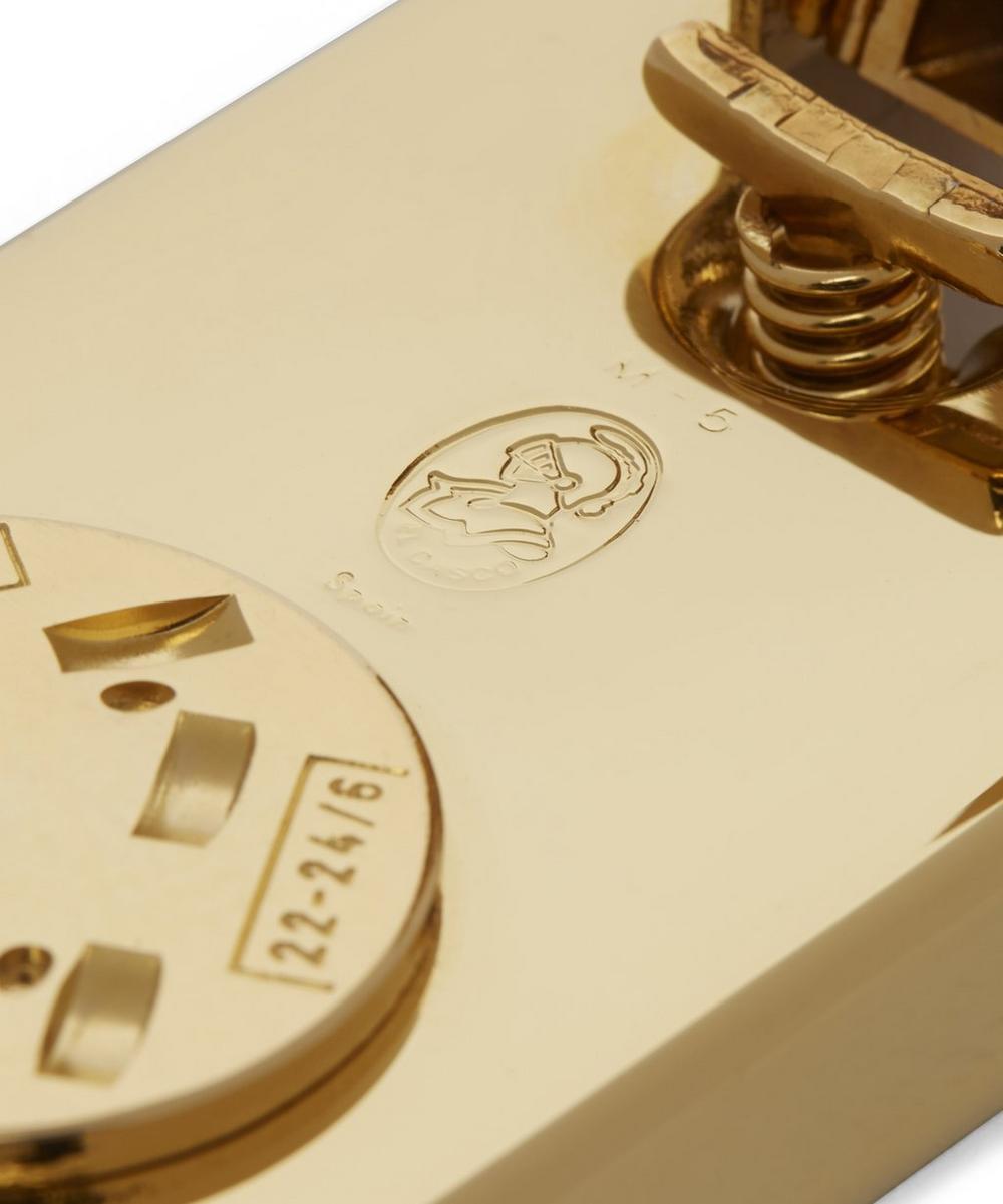M5 Gold-Plated Desk Stapler