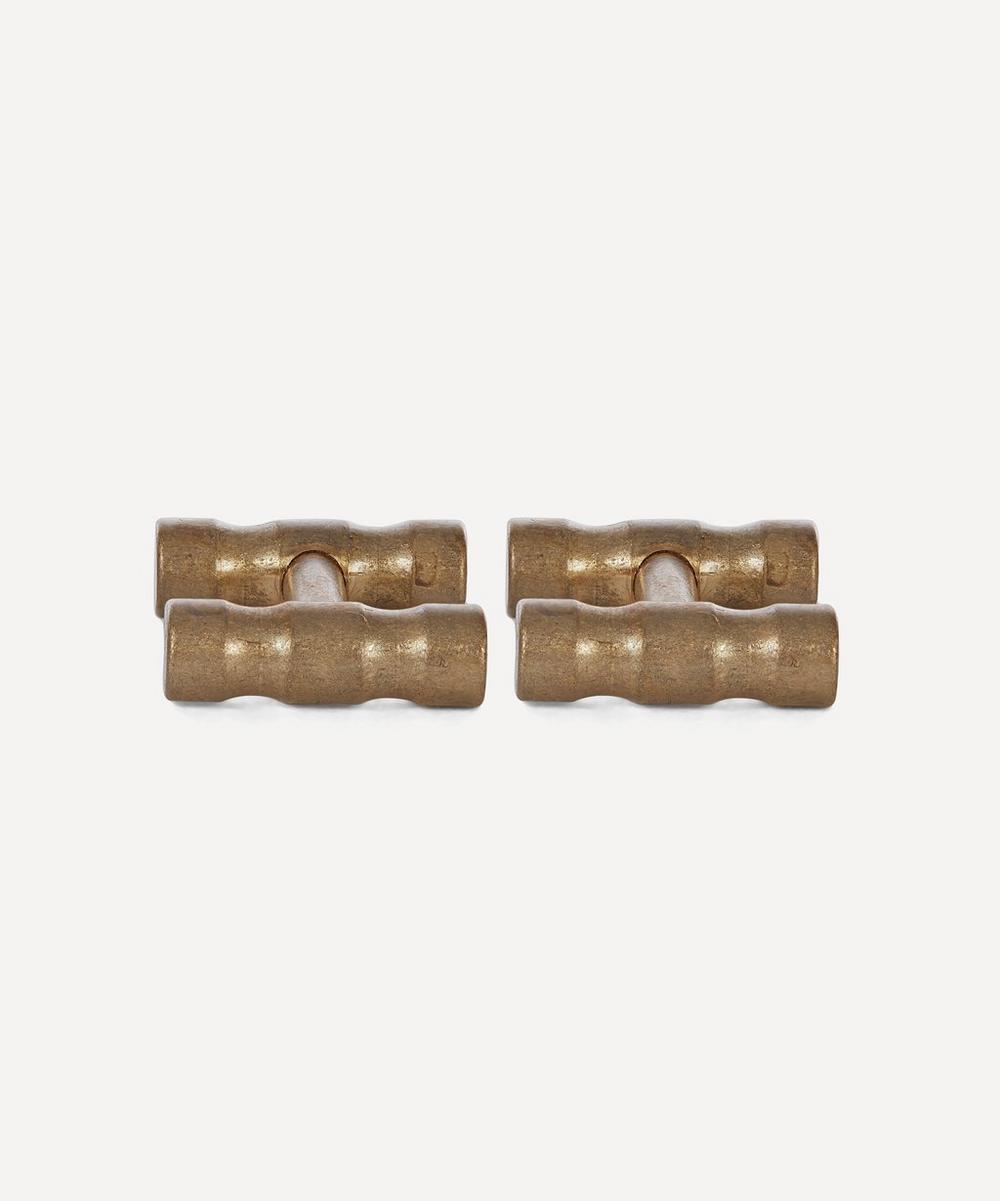 Lapworth Brass Cufflinks