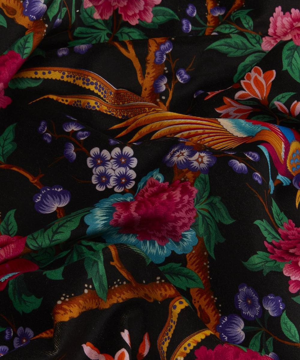 Elysian Paradise Velvet in Black
