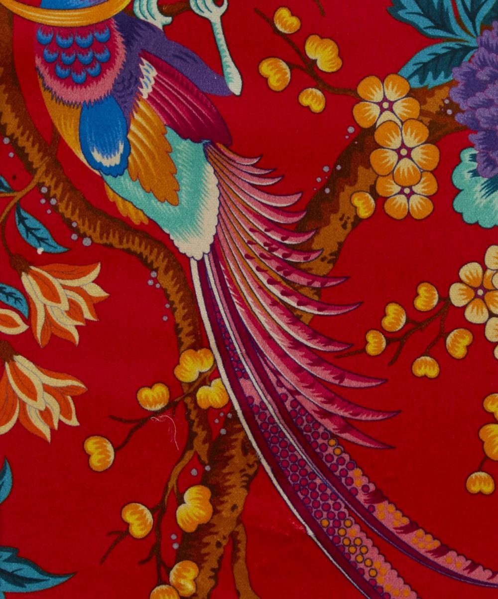 Elysian Paradise Velvet in Red