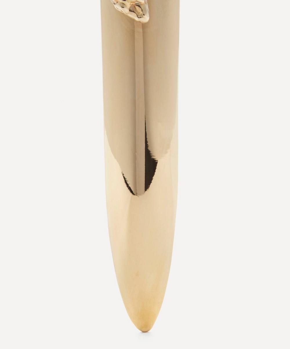 Gold-Plated Snake Letter Opener