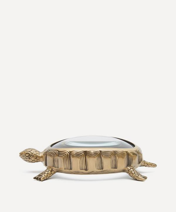 L'Objet - Gold-Plated Turtle Magnifying Glass