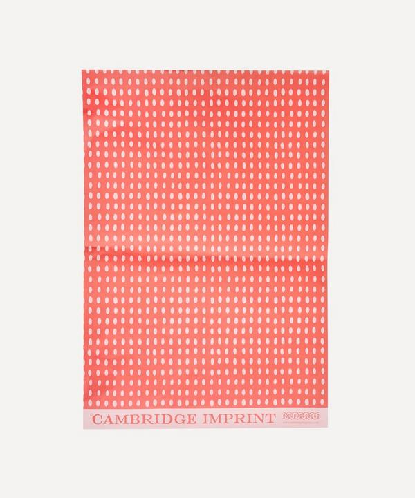 Cambridge Imprint - Bean Paper Sheet