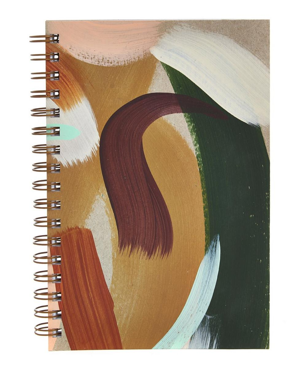 Cedar Painted Notebook
