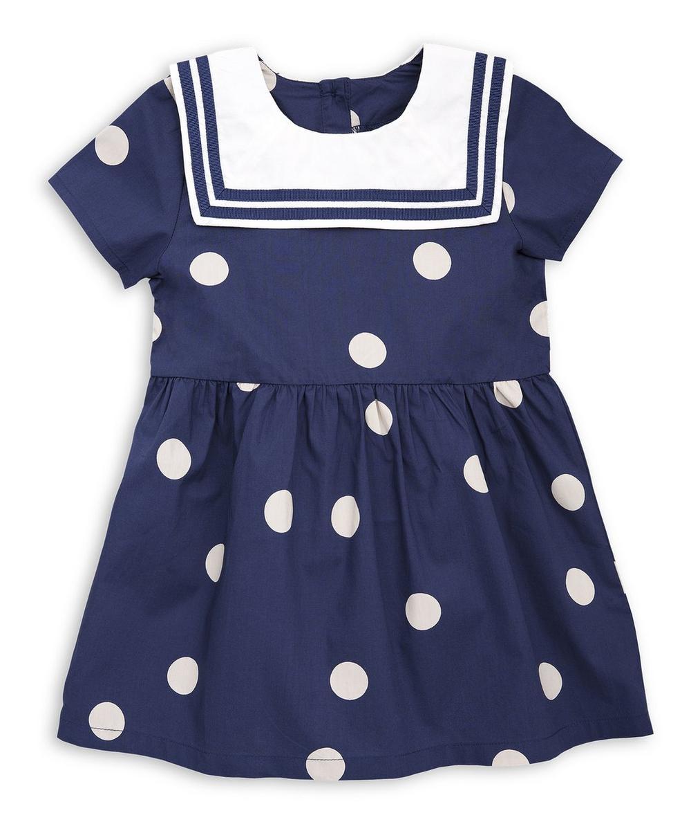 Dot Sailor Dress 2-6 Years