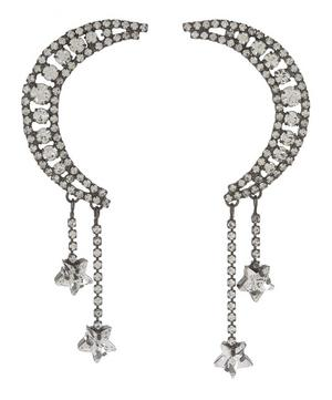 Crystal Luna Earrings