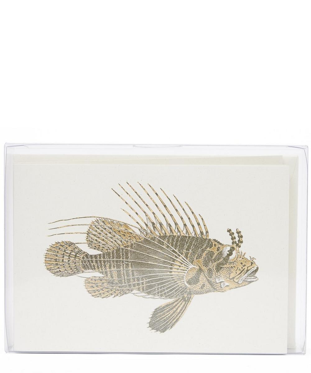 Scorpion Fish Notecards