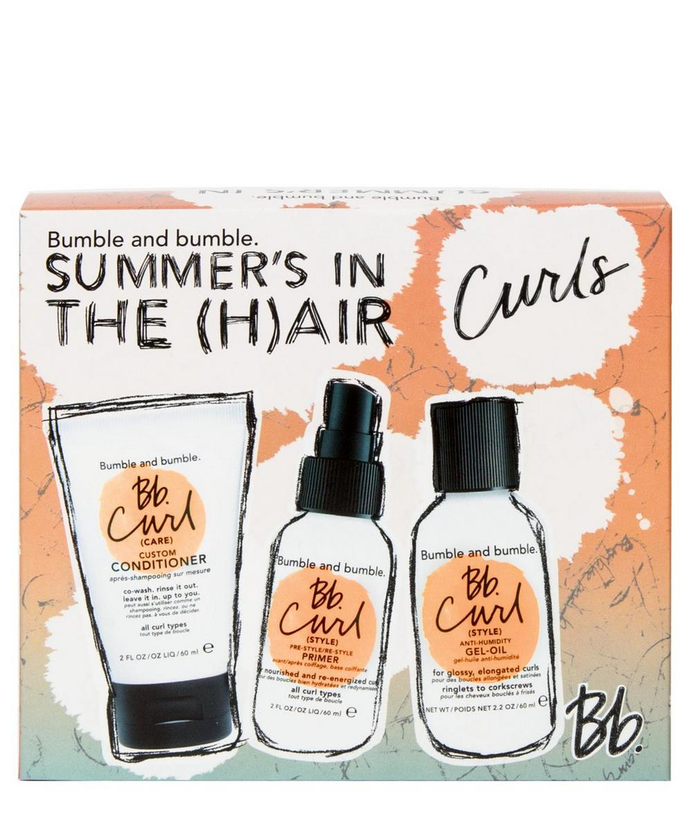 Bumble and Bumble - Summer Air-Dry Travel Set (Curly Hair)