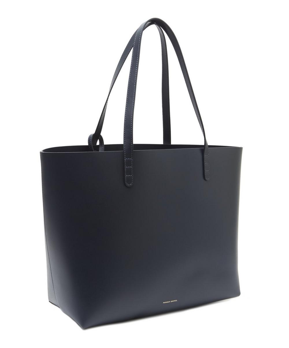 Large Calf Leather Tote Bag