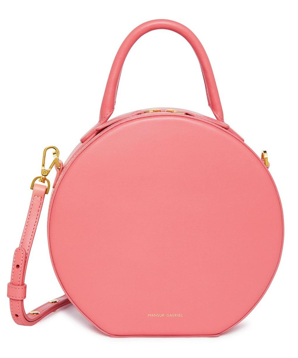 Circle Leather Cross-Body Bag