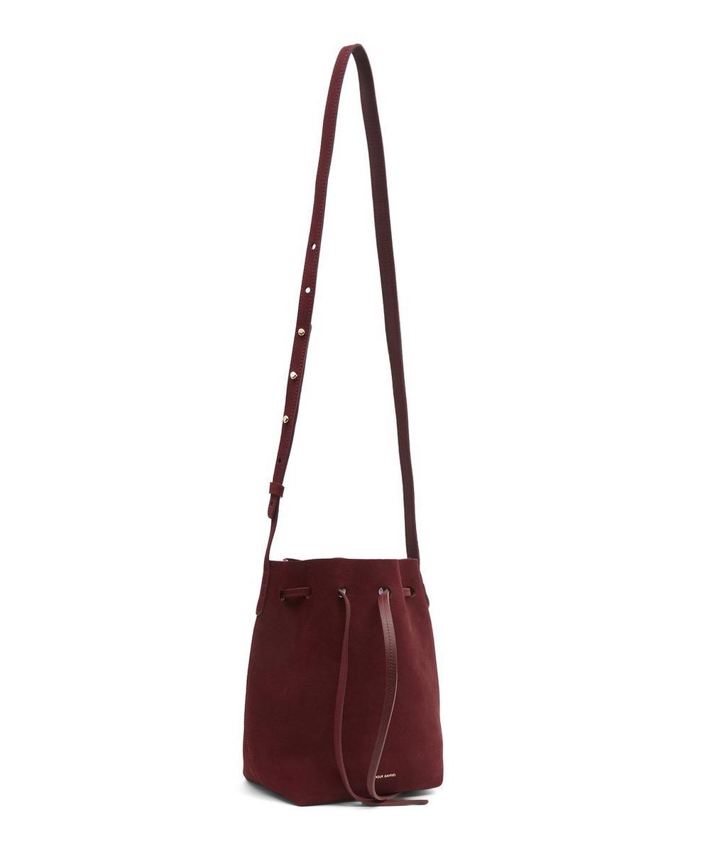411c6dd9f Suede Mini Bucket Bag | Liberty London