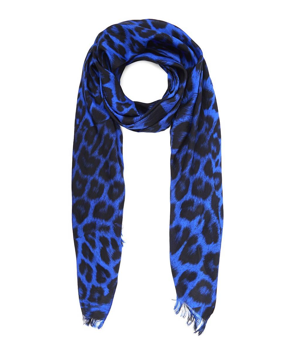 Kitty Silk Scarf
