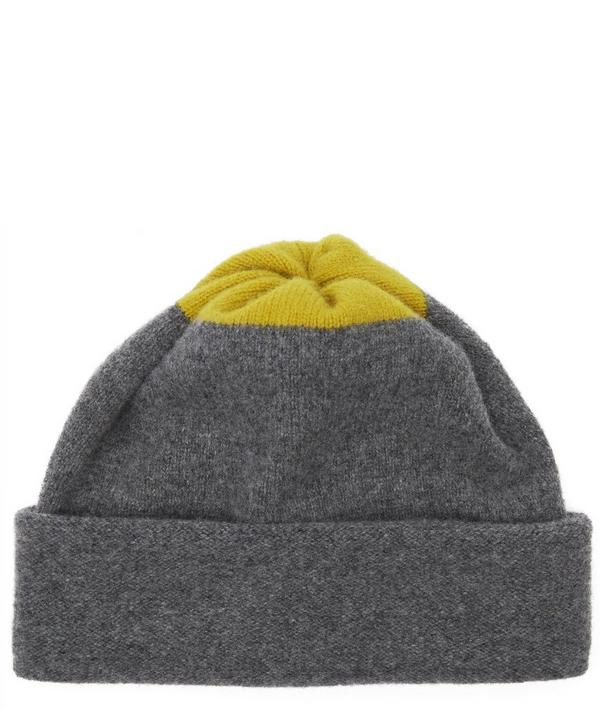 Top Spot Lambswool Beanie Hat