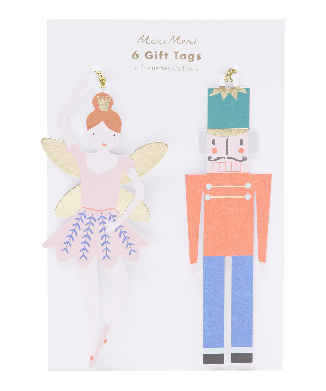 meri meri nutcracker gift tags