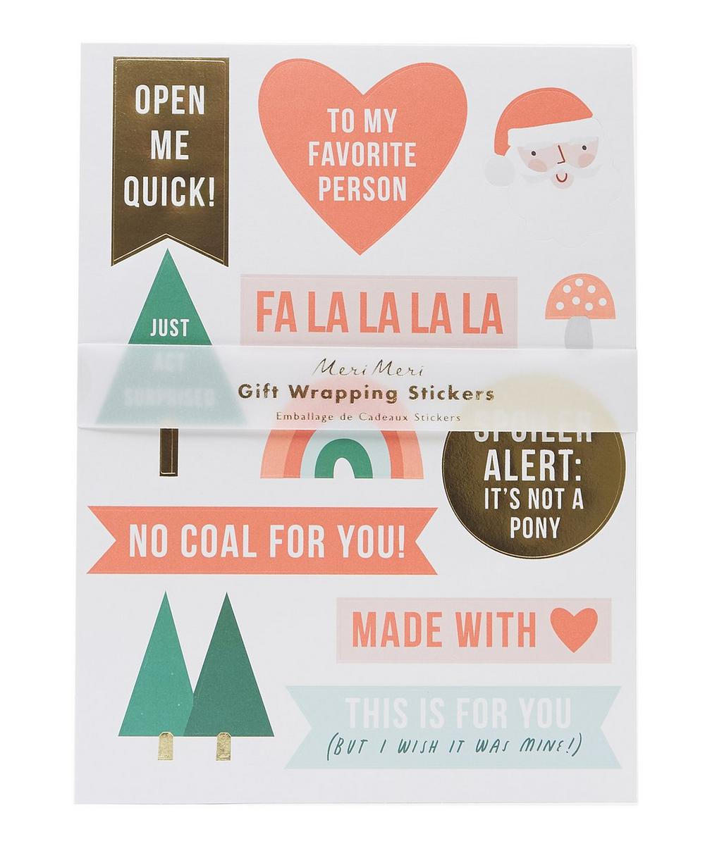 Gift Wrapping Stickers