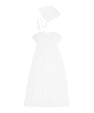 Victoria Short Sleeve Gown Set 0-18 Months