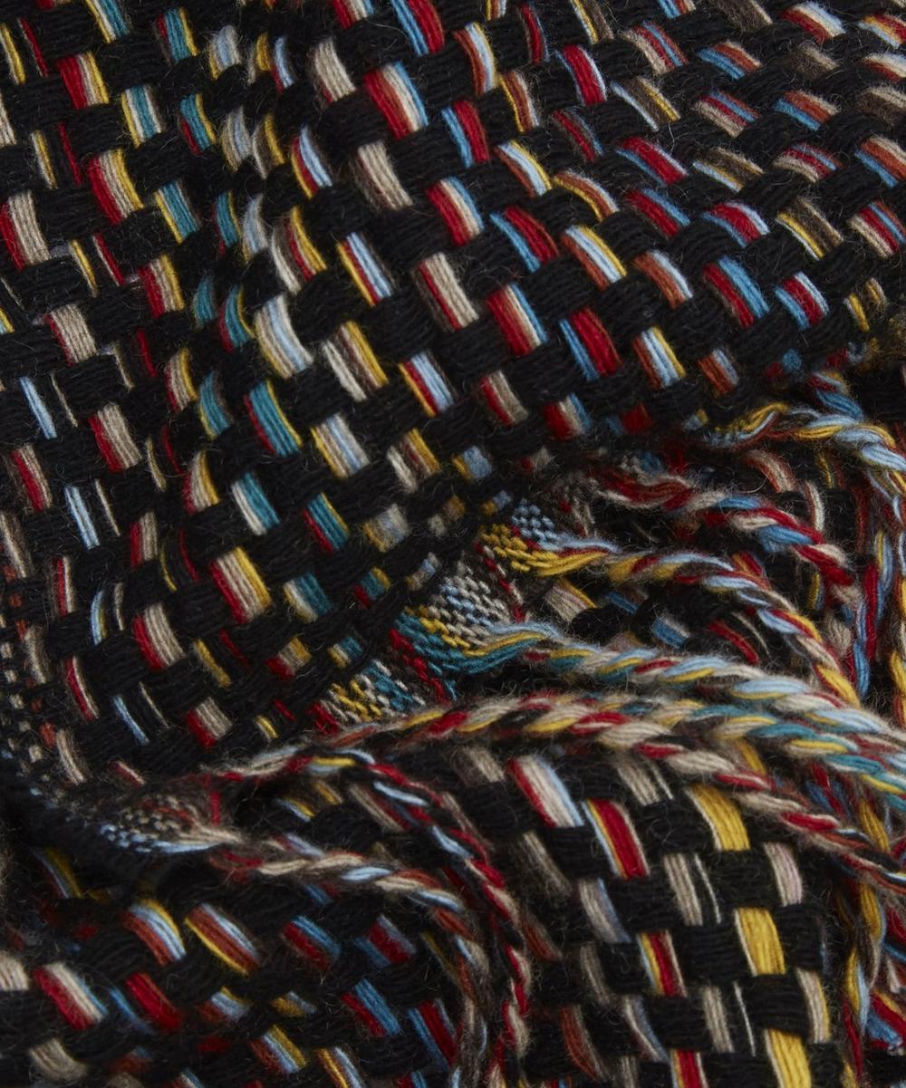 Multi Basket Weave Scarf Liberty London