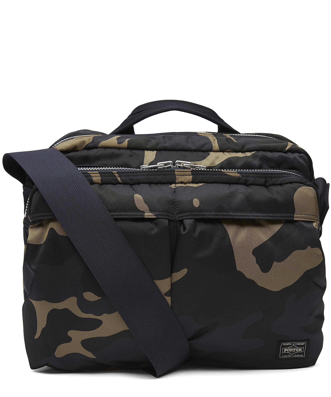 c8b9729af87 Camo Print Camera Two-Way Shoulder Bag | Liberty London