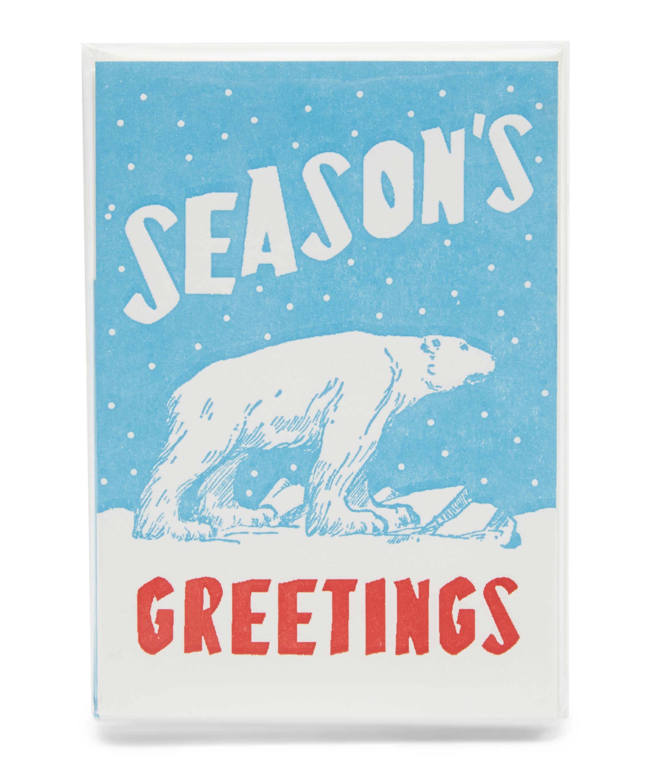 Polar Bear Christmas Cards | Liberty London