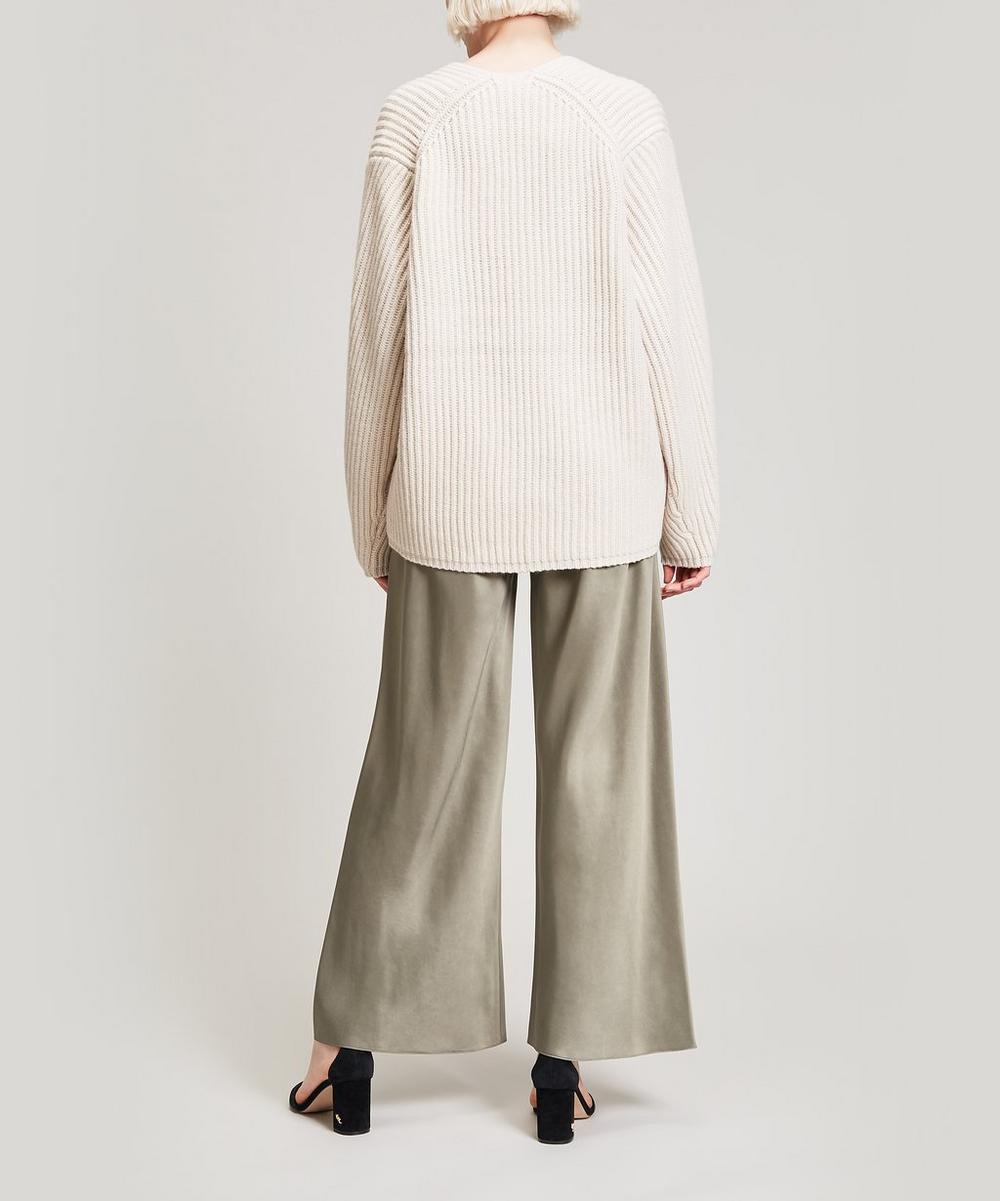 Deborah V-Neck Wool Knit
