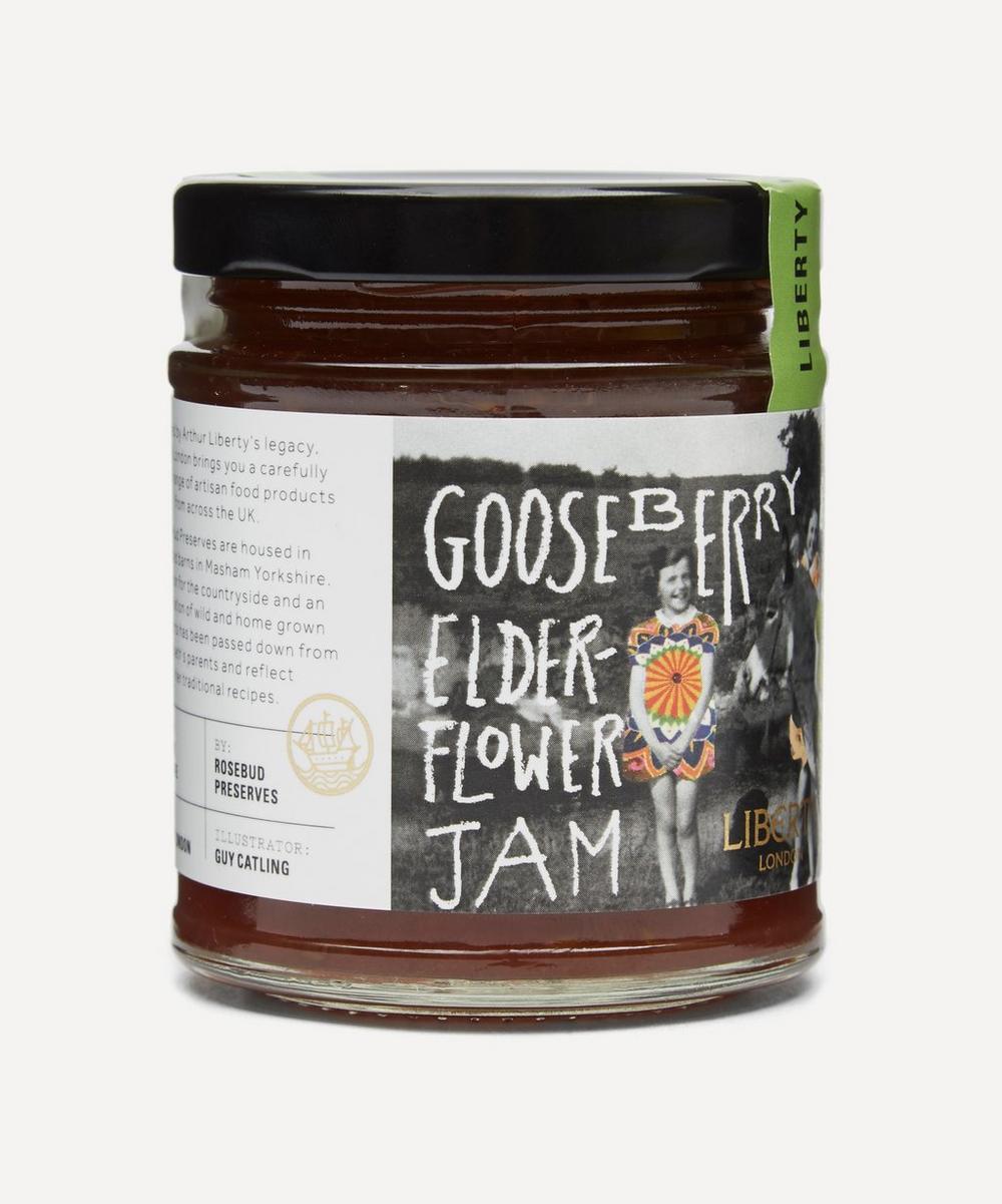 Gooseberry and Elderflower Jam 227g