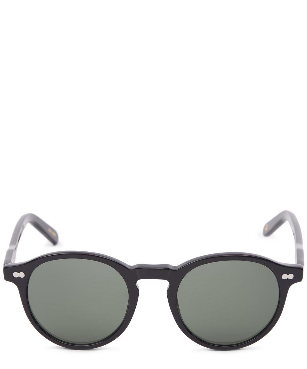 MOSCOT Miltzen Tortoise Sunglasses in Black