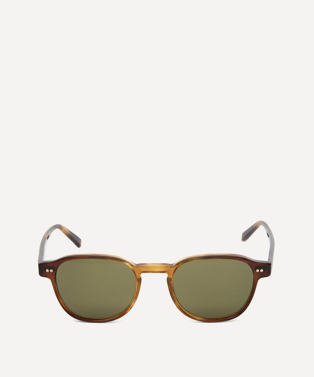MOSCOT Arthur Sunglasses in Green