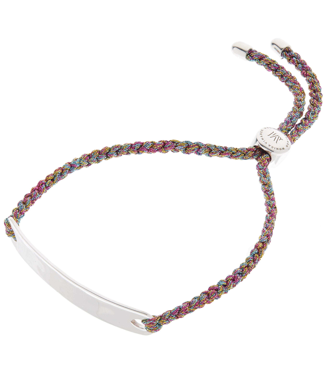 4e67a95039b85 Silver Havana Cord Friendship Bracelet