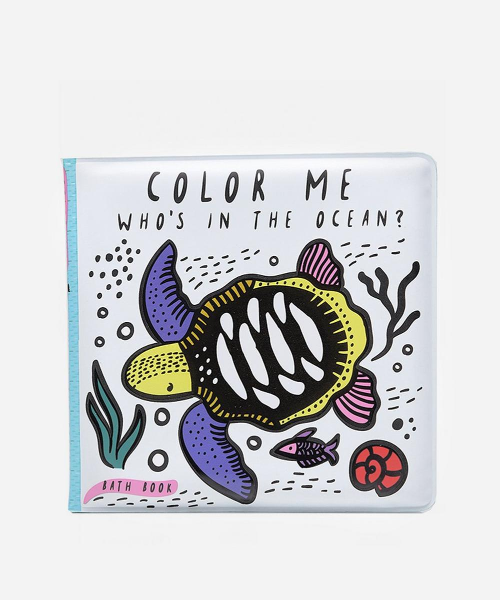 Whos In The Ocean Bath Colouring Book