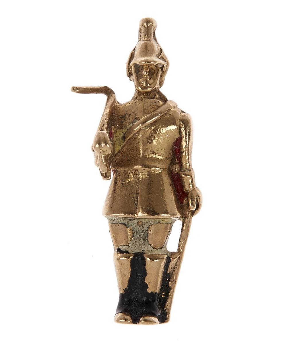 Gold Guard Charm