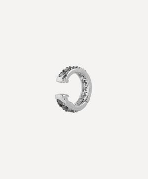 18ct White Gold Dusty Diamonds Hinged Ear Cuff