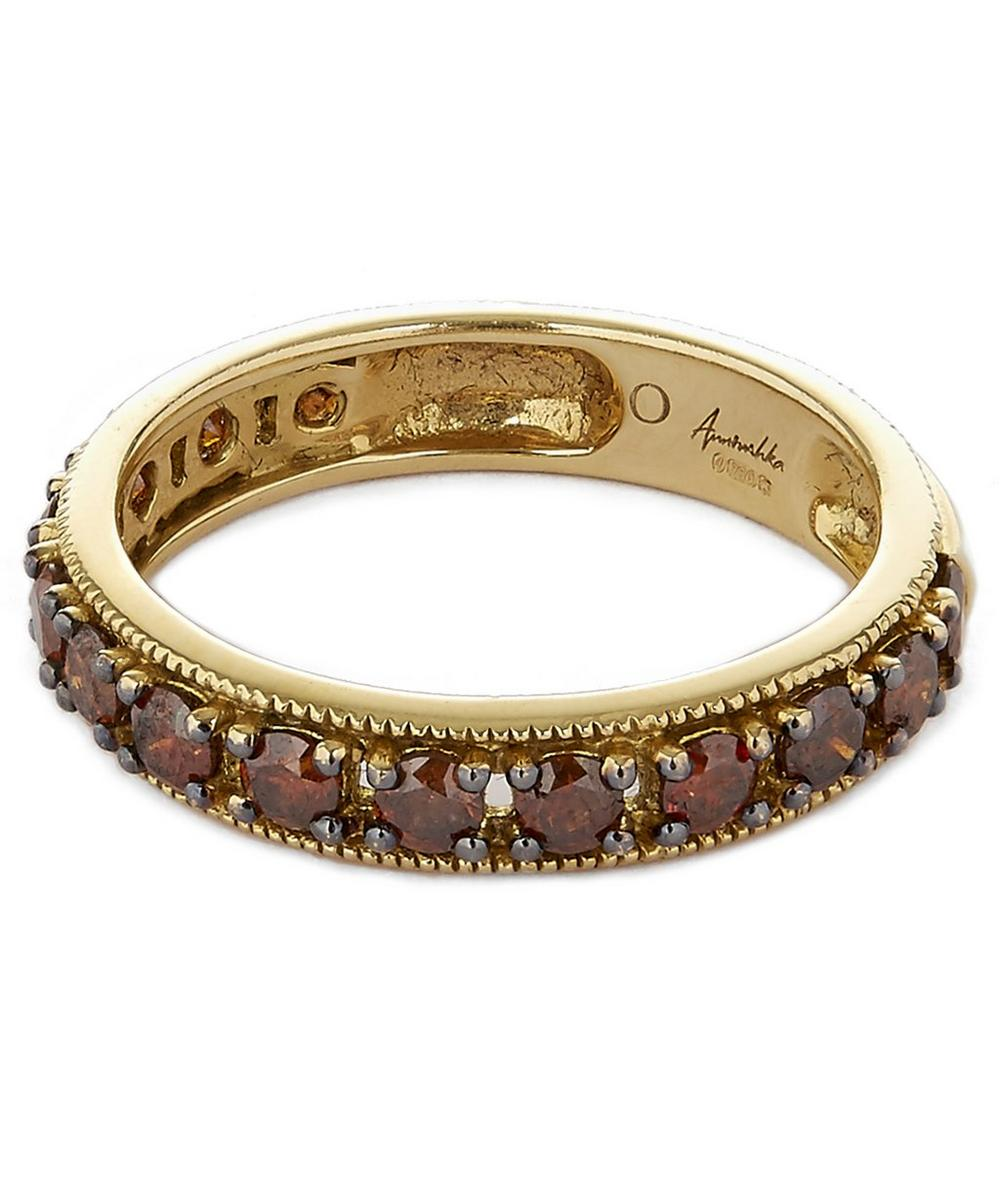 18ct Yellow Gold Dusty Diamond Eternity Ring