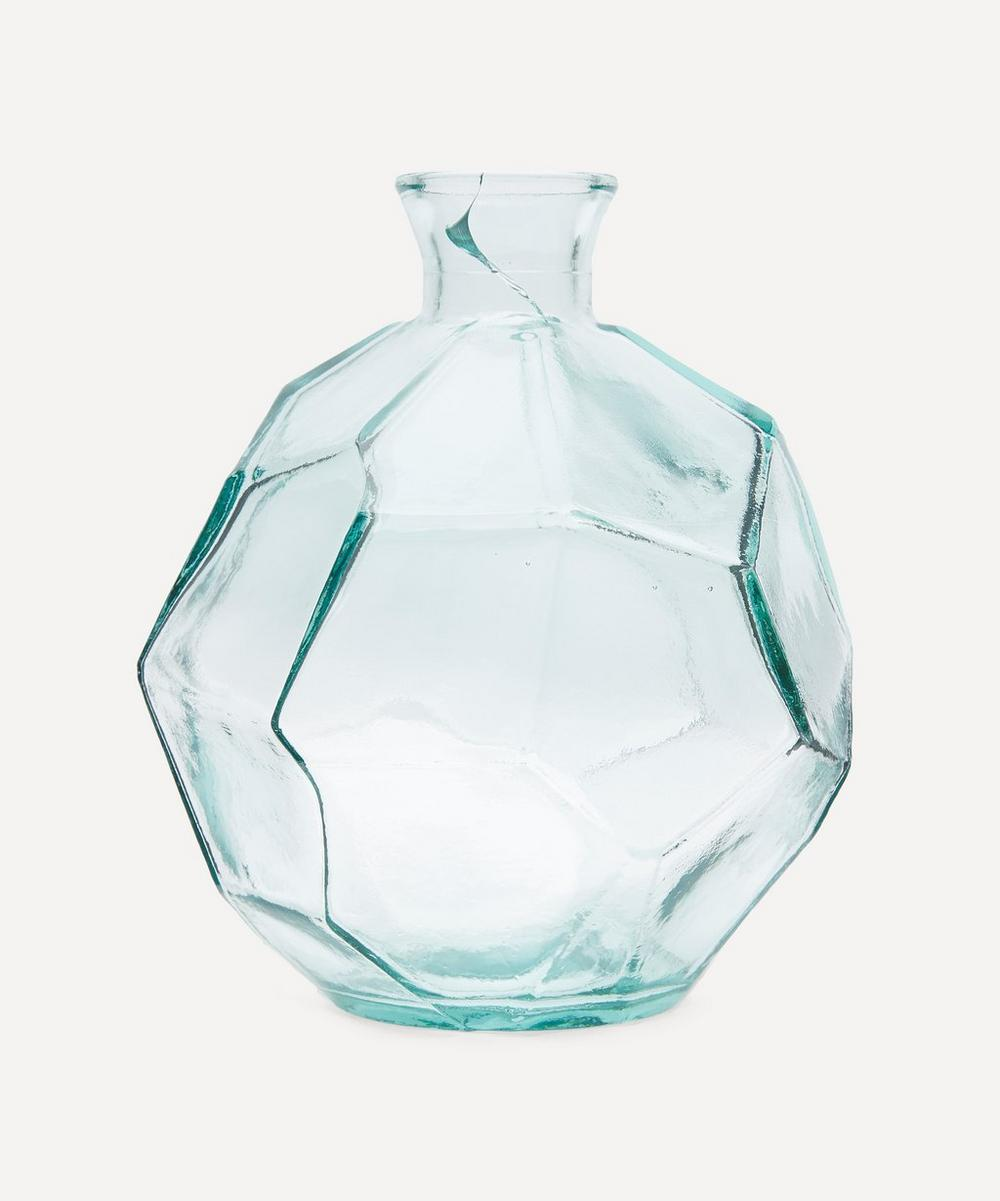 Clear Origami Vase 18cm Liberty London