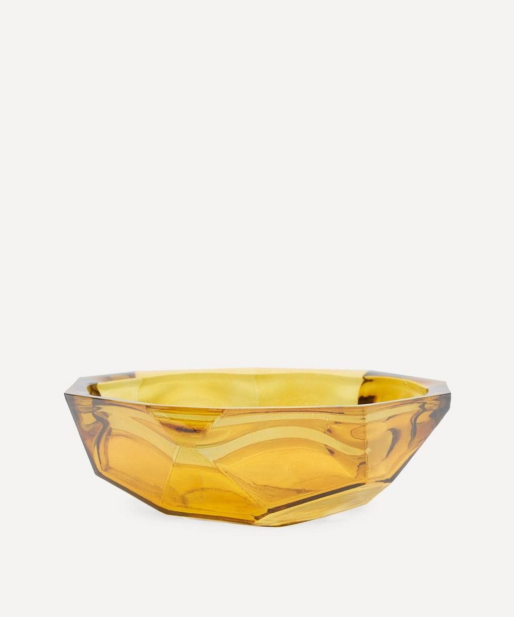 Yellow Origami Bowl