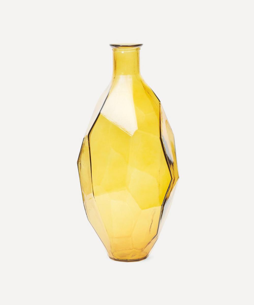 Yellow Origami Vase 59cm