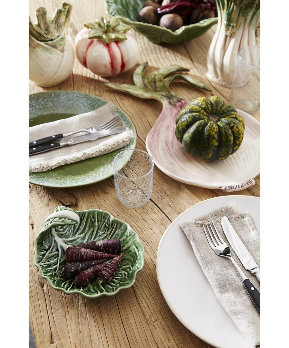 70's Ceramic Dinner Plate